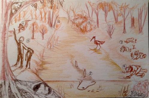 Creek sketch